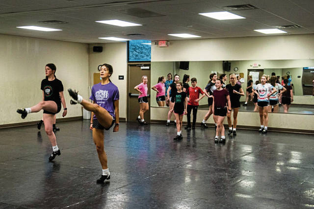 How do Irish dancers compete during the pandemic?