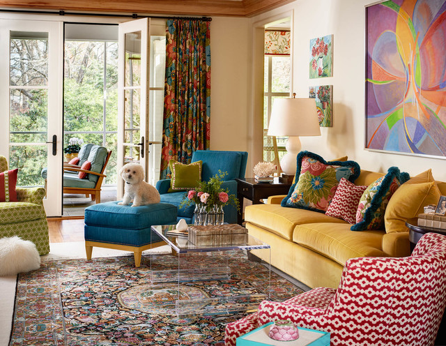 Combine Colours in Your Home